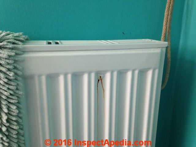 Heating Radiator Leaks Heating Radiator Repairs How To