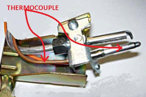 how to clean thermocouple on gas boiler