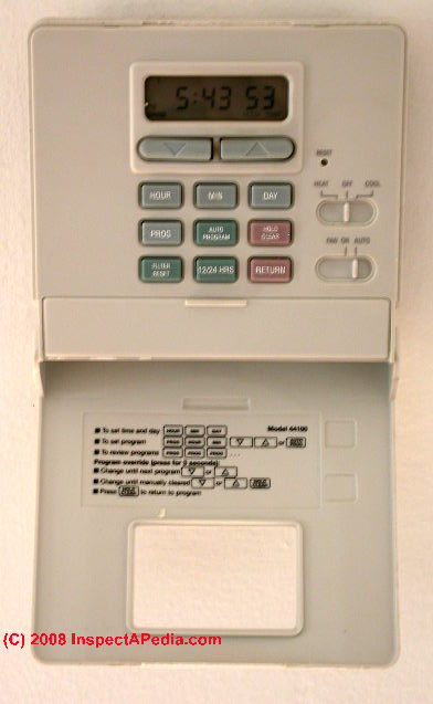 Heat Won T Turn Off Troubleshoot The Room Thermostat