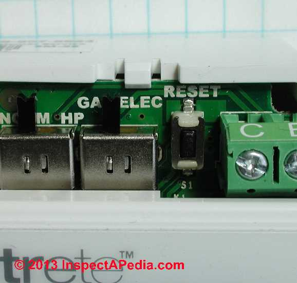 How To Set The Thermostat Cycle Rate Switches Or Fan