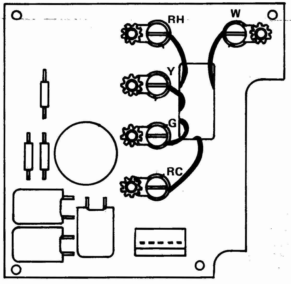 How Wire A White Rodgers Room Thermostat Wiring Diagram For St 4 1f90