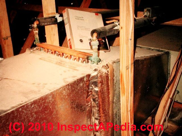 Water To Air Heating Fan Convectors Identification