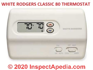 How Wire A White Rodgers Room Thermostat White Rodgers Thermostat Wiring Connection Tables Hook Up Procedures For New Old White Rodgers Heating Heat Pump Or Air Conditioning Thermostats