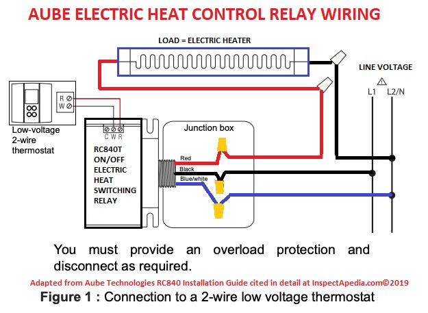 Convert Line Voltage Thermostat to Low Voltage Nest on