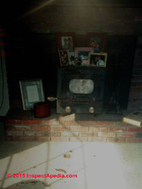 Fire Clearances For Woodstoves Pellet Stoves Coal Stoves