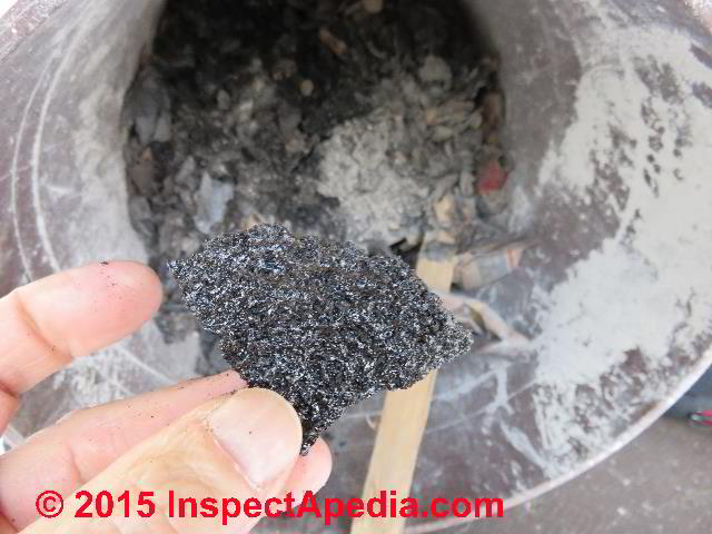 Chimney Creosote Deposits Amp Fire Hazards In Chimneys