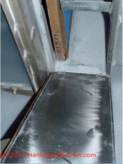Drywall Dust Contamination of HVAC air handlers