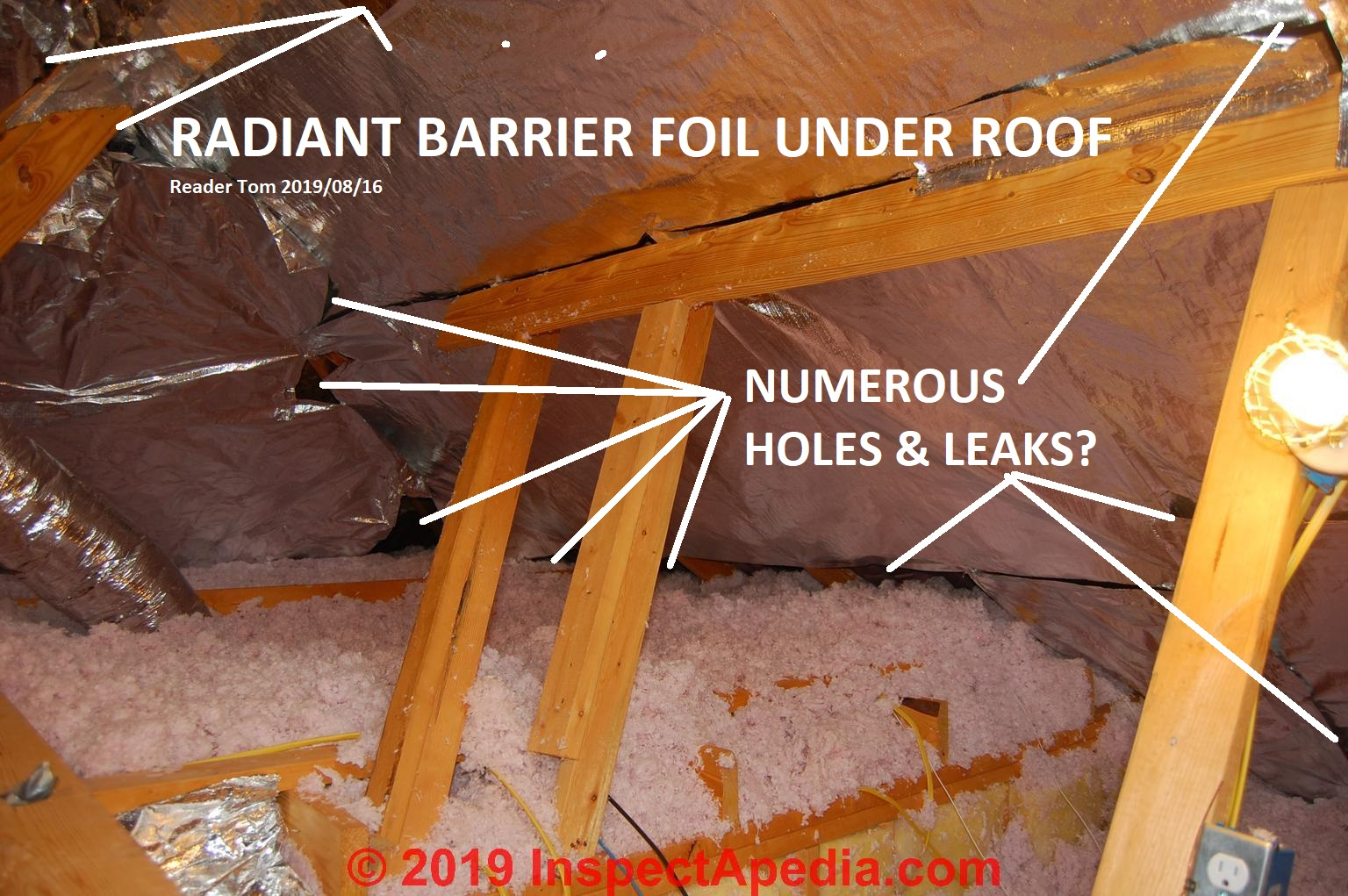 Radiant Barriers Amp Reflective Insulation How They Work