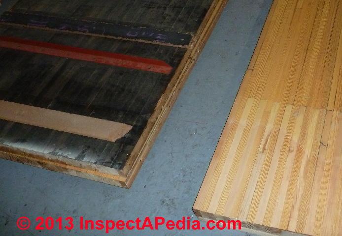 Asbestos Content in Fiberboard Building Sheathing