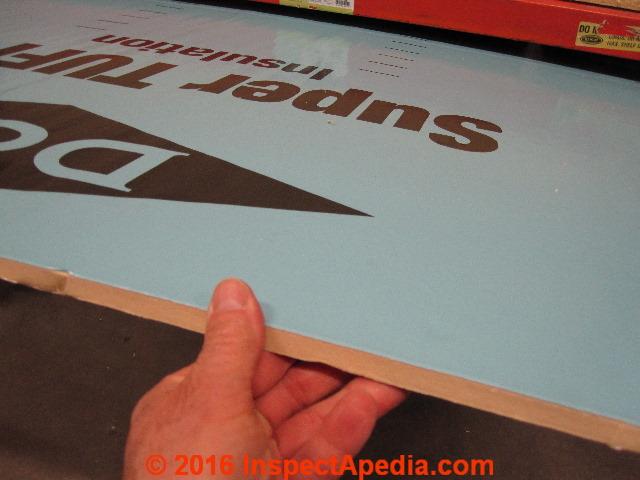 Dow Chemical Super Tuf R Foil Faced Foam Insulating Board C Daniel Friedman Tuff