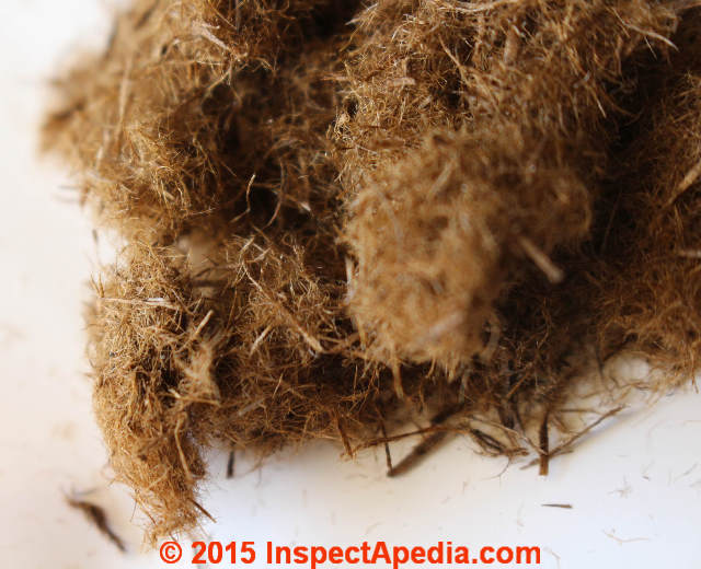 How to identify balsam wool building insulation silvawool for R value of wool
