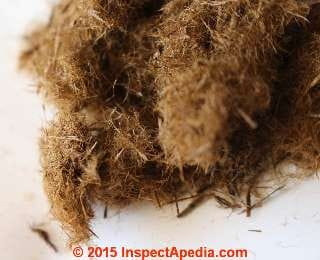 Silvawool like wood fiber insulation (C) InspectApedia JR