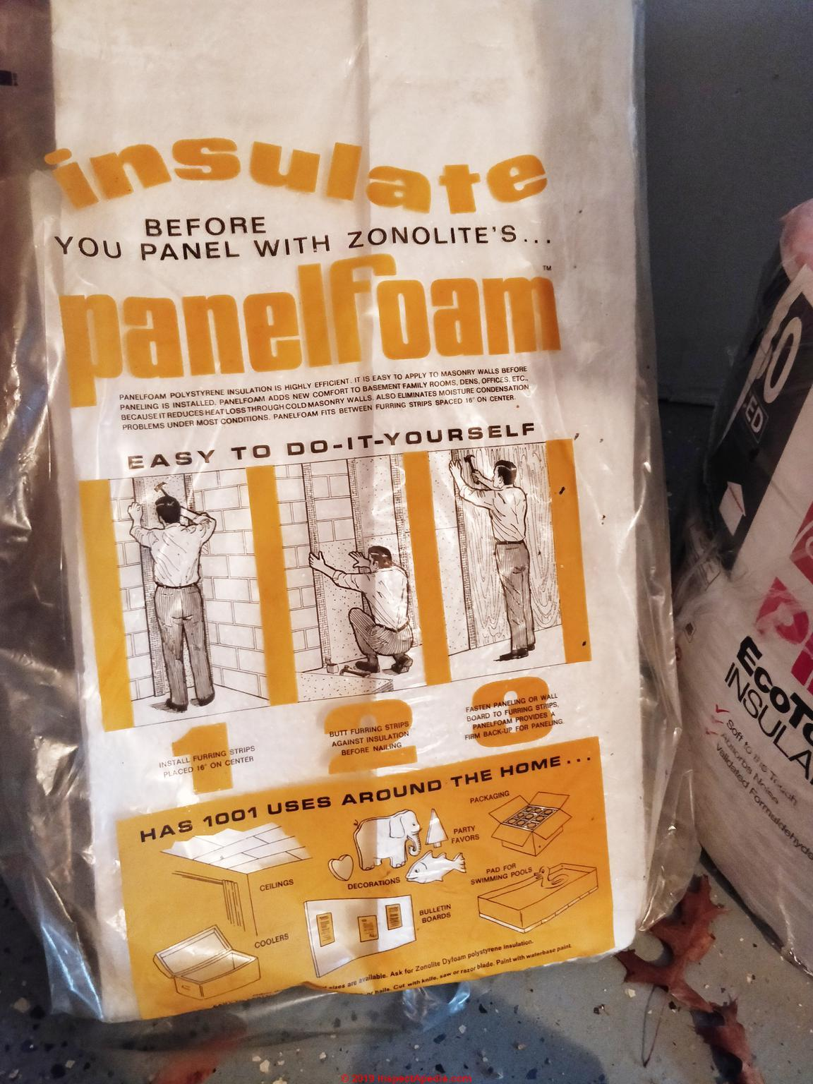 Asbestos In Styrofoam Polystyrene Productsasbestos