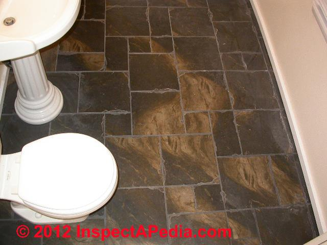 Ceramic tile floor properties kitchens bath Ceramic stone tile