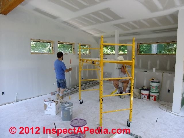 Drywall Installation And Painting C D Friedman Eric Galow Homes