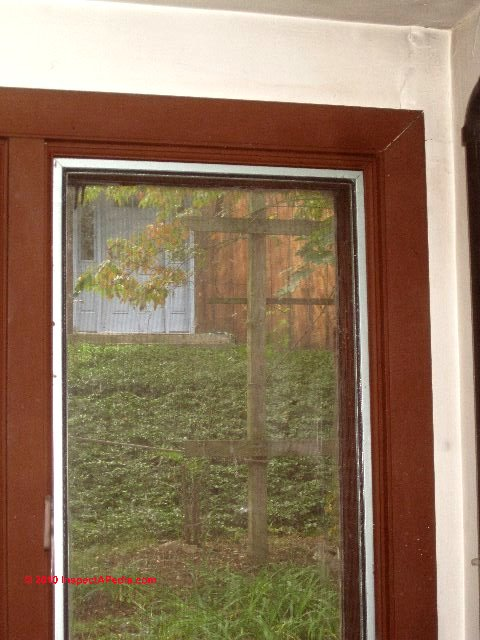 Fix window door air leaks air sealing eliminates leaks for Clamshell door casing