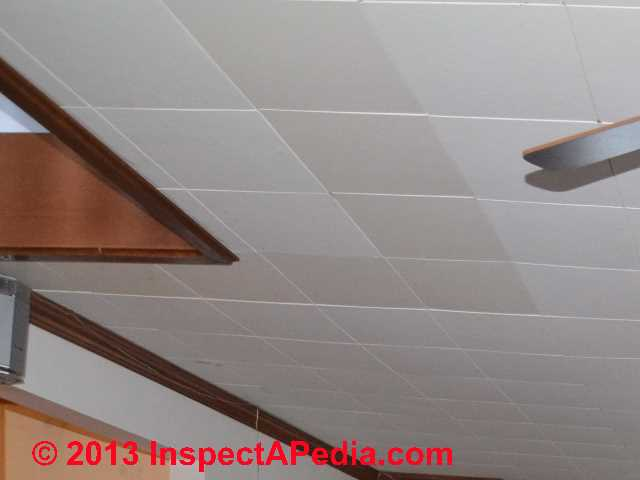 How To Tell If Ceiling Tiles Contain Asbestos Identify Asbestos Ceiling Tiles