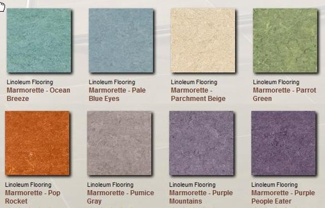 Armstrong Linoleum Floor Covering Example Colors Patterns Www