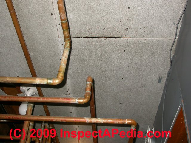 Asbestos Drywall Board ~ Asbestos identification photo guide to building materials