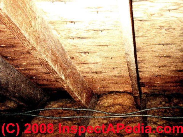 Inspect The Attic Or Roof Cavity For Signs Of An Ice Dam