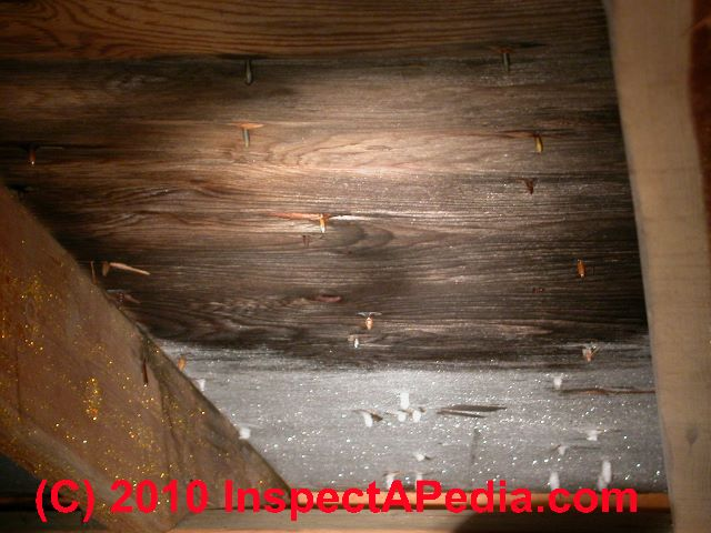 Cape cod roof venting or dense insulation designs for Roof leaking in winter