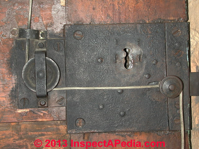 Antique Door Hardware: Barcelona Spain - Door Age: Door Locks, Knobs, Hinges Hardware As Indicators Of