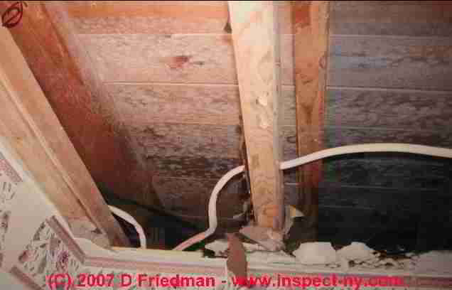 Blocked Soffit Intake Venting As A Factor In Attic