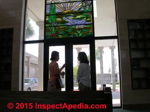 fixed glass window aluminium teal friedman at the boca raton masoleum in fl c daniel fixed vertical glazing window glass installation details