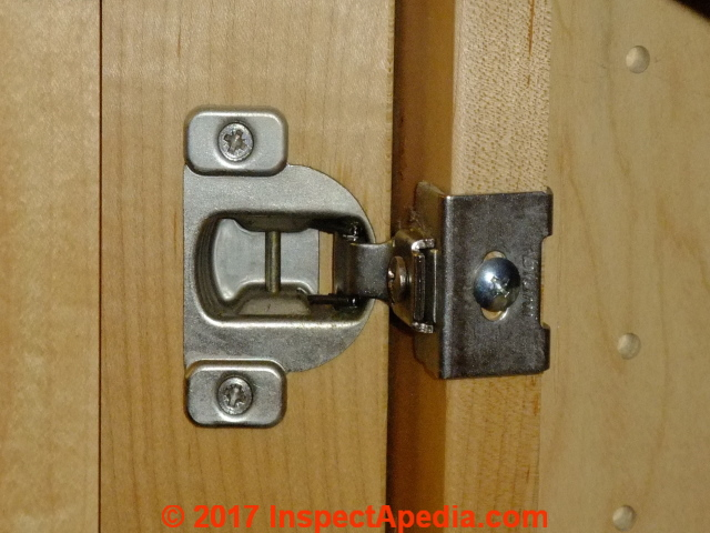 Kitchen Bathroom Cabinet Door Hinges