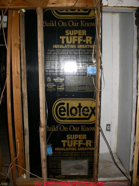 Celotex® & Dow Polyisocyanurate Insulating Foam Sheathing Board