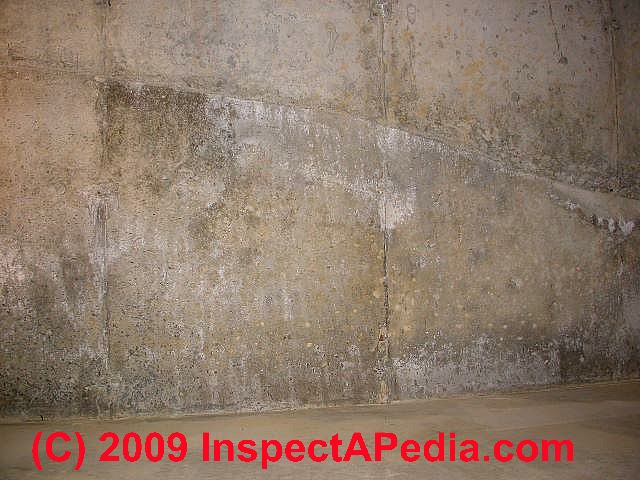 Wet basement diagnosis cure how to inspect for basement for Pouring concrete in the cold