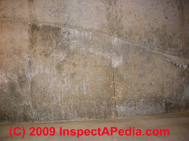 ... Basement Water Leak At Cold Pour Joint (C) Daniel Friedman