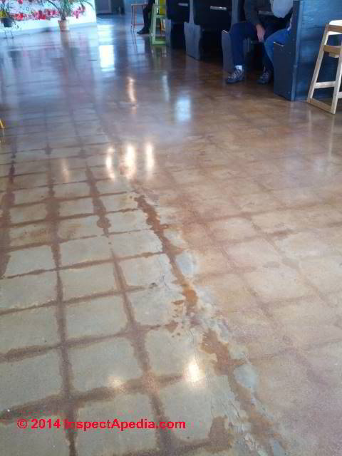 How to remove tile adhesive from concrete floor