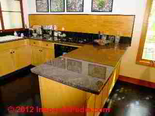 Granite countertops (C) D Friedman