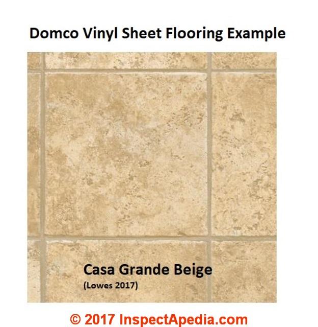AsbestosContaining Sheet Flooring FAQs - Domco vinyl flooring