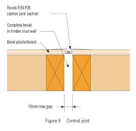 Drywall Expansion Joints Use Drywall Control Joints Or