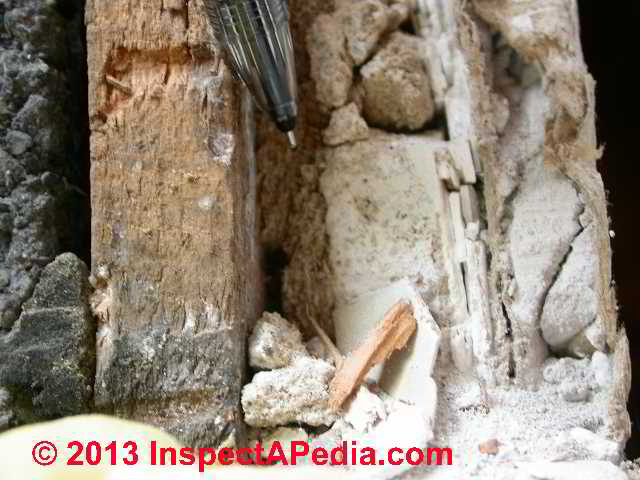 Asbestos identification photo guide to building materials for Is there asbestos in old drywall