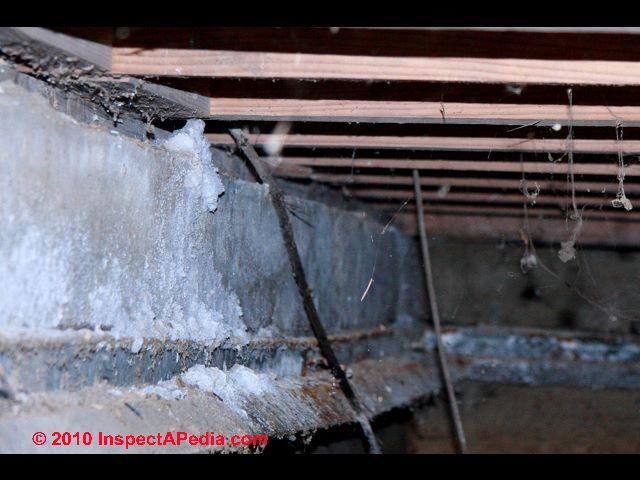 Mineral Efflorescence Water Deposits Salt Deposits