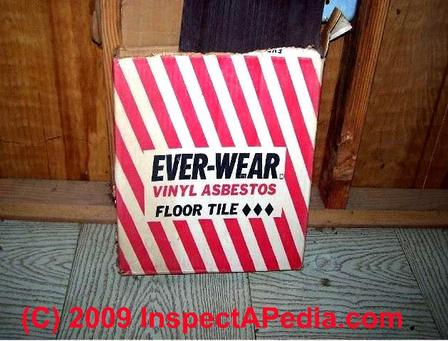 Floor Tiles That May Contain Asbestos History