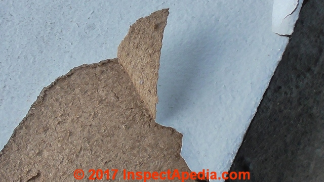 Does fiberboard contain asbestos zef jam for Fiberboard roof sheathing