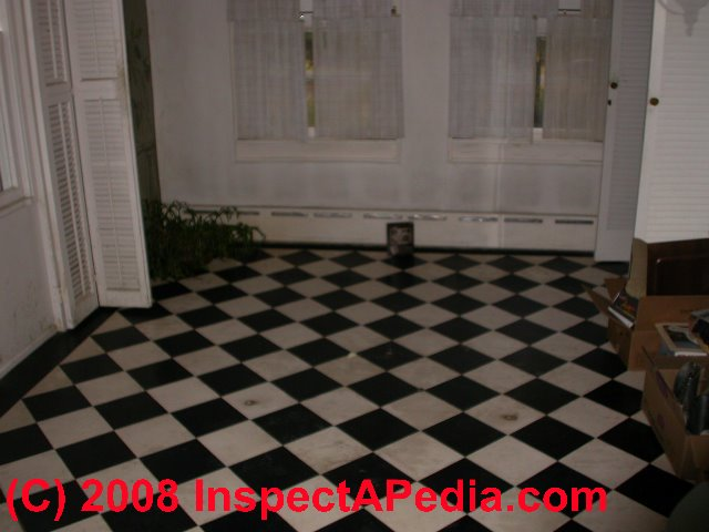 To Identify Asbestos Floor Tiles Or Asbestos Containing Sheet Flooring