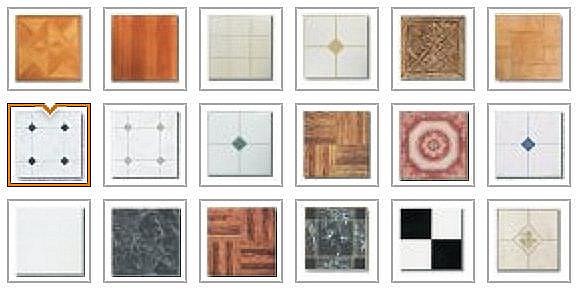 trademark supplies vinyl floor tiles in
