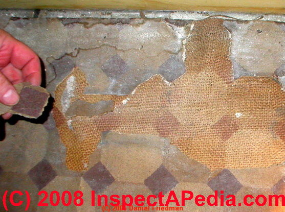 How To Inspect Amp Test To Identify Resilient Flooring Or