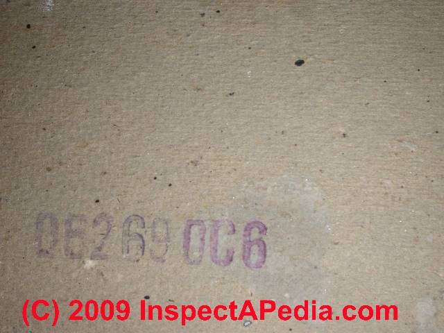 Panelized construction photo history construction details of printed identification number on drywall c daniel friedman fandeluxe Choice Image