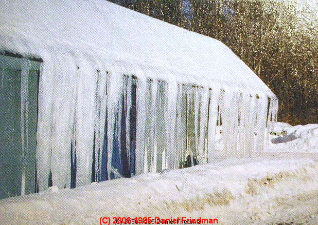 Roof Ice Dam Leaks Amp Attic Moisture
