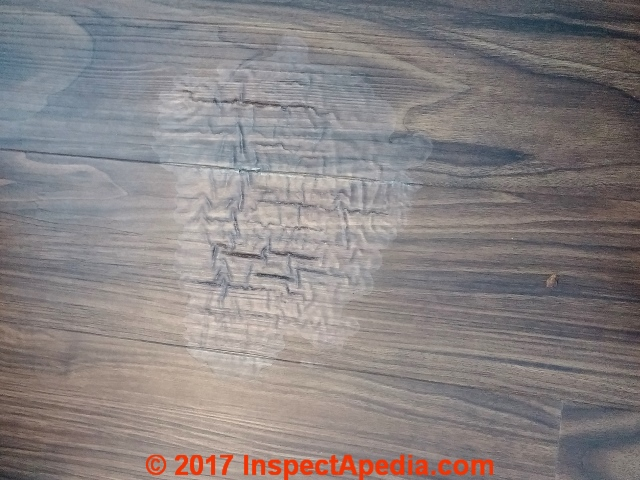 Diagnose U0026 Repair Water Or Solvent Stains On Wood Or Laminate Flooring