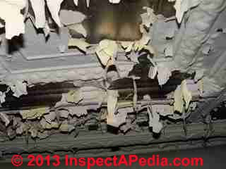 Water damaged metal ceiling (C) InspectApediia JN