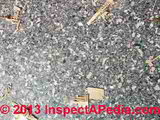 How to identify brand and asbestos content of resilient flooring (C) InspectAPedia