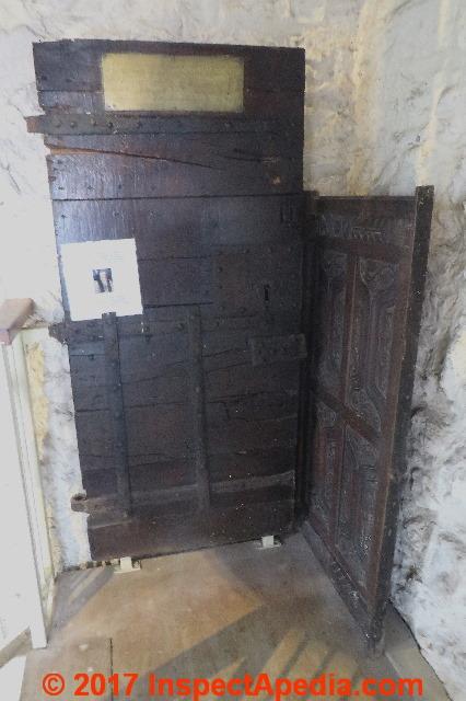 Door Age Door Locks Knobs Hinges Hardware As Indicators