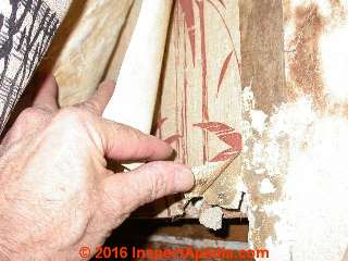 Interior wall coverings finishes how to identify types for Is there asbestos in old drywall
